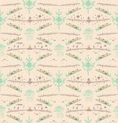 Kindra Murphy Colorform -wall paper- curated by Fine Little Day