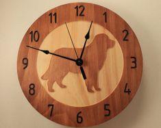 Items similar to Pine dog clock Puppy clock Wood clock Wall clock Wooden wall clock Dog lover gift Animal clock Pine clock Pet clock Dog collectibles on Etsy Wall Clock Wooden, Wood Clocks, Clock Wall, Home Clock, Diy Clock, Cnc, Puppy Nursery, Cool Dog Houses, Wall Clock Design