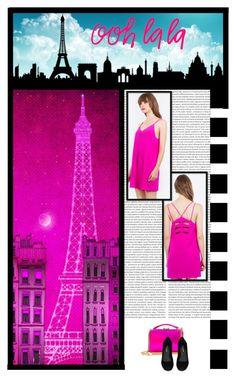 """Unspoken Fashion (45)"" by irresistible-livingdeadgirl ❤ liked on Polyvore featuring Sugarlips, Mark Cross, Yves Saint Laurent, modern, paris, hologram, saintlaurent, eiffeltower and markcross"