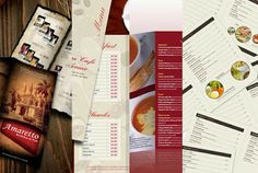 30 elegantes diseño de menu de restaurantes