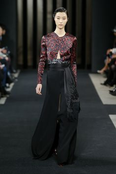 Look 19 from the J. Mendel Fall 2015 Collection | www.jmendel.com