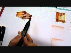 Top 10 Sketchy Saturday  032 This video is included as part of my teaching of sketching with marker at Art & Culture's House in Rasht , Iran. This style helps you to have a better presentation and show the wooden material. This style is called Marker and I have also used pen and color pencil in it.