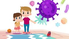 Ενημέρωση Νηπίων για τον Κορωνοϊό Diy Crafts For Girls, Primary School, Kindergarten, Family Guy, Kids Rugs, Activities, Education, Children, Fictional Characters
