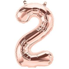 Rose Gold Number 2 Balloons, Small, Balloon One First Birthday balloon Alphabet or Number Foil Balloon TWO Helium Number Balloons, Rose Gold Number Balloons, Letter Balloons, Foil Balloons, First Birthday Balloons, Gold Birthday, Happy Birthday, Ballon Helium Chiffre, Makeup Ideas