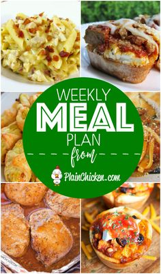 A recipe and side dish for everyday of the week. Quick and easy recipes made with everyday ingredients guaranteed to please the pickiest eaters.