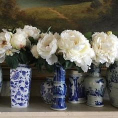 Good morning! Oh my gosh…..it is feast or famine. When it comes to blue and white anything……there really can be too much of a good thing! In trying to add some finishing details to my covered porch……I couldn't find any … Continue reading →