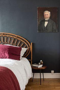 La tête de lit en rotin - TRAITS DCO Magazine