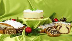 Праздничная выпечка кексов и рулетов