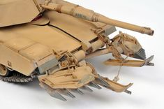 M1A1 with Mine Plow by Andrew Judson (Trumpeter 1/35)