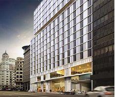 fachadas ventiladas para hotel de madrid