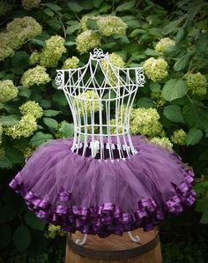 Purple tutu dress for girls party dress baby tutu 1st