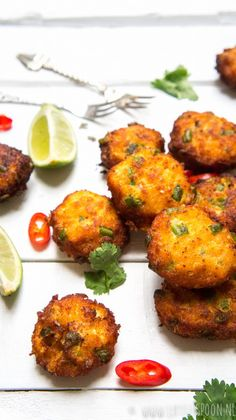 See related links to what you are looking for. Fish Recipes, Asian Recipes, Chicken Recipes, Thai Fish Cakes, Low Carb Brasil, Vegan Fish, Vegetarian Recipes, Healthy Recipes, Seafood Appetizers