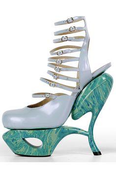 Fancy - OOOK - John Galliano - Women's Shoes - 2009 Fall-Winter - LOOK 72