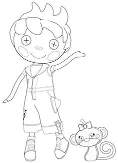 lalaloopsy boy coloring pages to print lalaloopsy coloring pages - Lalaloopsy Coloring Pages