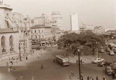 Praça João Mendes, 1953. São Paulo do Passado