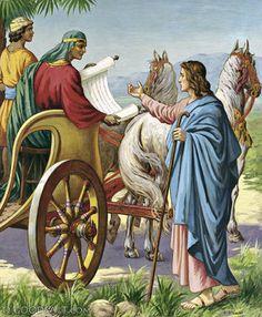 Acts 8: Philip and Ethiopian