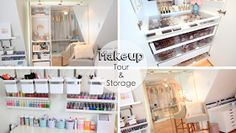 Makeup Tour & Storage Ideas by Lisa Pullano♡
