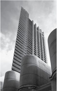 The Barbican, London, Architecture firm Chamberlin, Powell and Bon London Architecture, Amazing Architecture, Contemporary Architecture, Interior Architecture, Commercial Architecture, Japanese Architecture, Gothic Architecture, Landscape Architecture, Bauhaus
