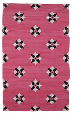 Udaipur Pink by The Rug Company | Cotton Flatweave dhurries and kilims