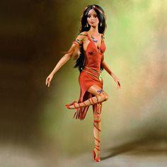 Ashton Drake Fantasy dols | Native Americans | CINDY MCCLURE