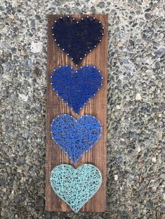 Thread Art, Thread Painting, Diy And Crafts, Crafts For Kids, Arts And Crafts, Nail String Art, Art Addiction, Horse Crafts, Crafty Craft