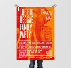 The Big Reggae Family Party // Design by Bel Bembé www.belbembe.com