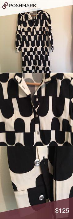 Selling this Marimekko Hoosi long sleeves dress NWOT on Poshmark! My username is: nycma. #shopmycloset #poshmark #fashion #shopping #style #forsale #Marimekko #Dresses & Skirts