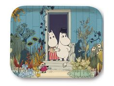 Moomin Picture Poster 24 x 30 cm Tove Jansson Moominmamma and Moominpappa Les Moomins, Dulwich Picture Gallery, Moomin Valley, Tove Jansson, Children's Book Illustration, Animation Film, Yolo, Belle Photo, Illustrators