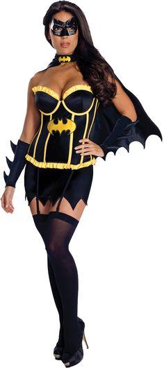 Batgirl Halloween Costume, Halloween Kostüm, Halloween Outfits, Women Halloween, Corset Costumes, Adult Costumes, Costumes For Women, Batman And Batgirl, Batgirl Mask
