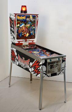 Dirty Donny Gillies - Pinball Machine Art Piece