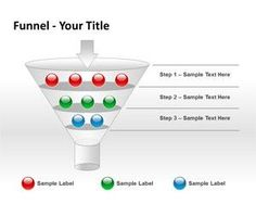 Funnel Analysis Steps PowerPoint Template