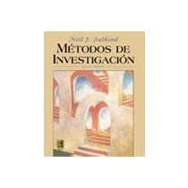 Métodos de investigación / Neil J. Salkind. 1999.