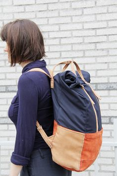 Voyatzer backpack is a travel bag that can easily be used as an everyday backpack.The bag can be custom made with the materials and the colours varying upon personal request.The project has developed in Design Academy Eindhoven by Alexandros Kotoulas un…