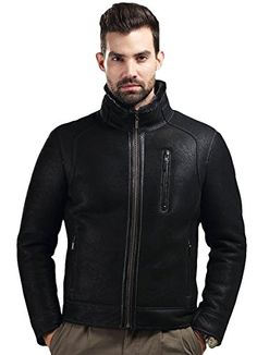 BLQY Men's Real Merino Sheep Double-Face Leather Jacket with Stand up Collar Large Brown BLQY http://www.amazon.com/dp/B00OYRKW7G/ref=cm_sw_r_pi_dp_FFPFub1MEQMYC