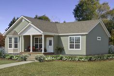 Scarlett Modular Home Floor Plan.  3 bedrooms. 2 baths. Approximately 1,996 square ft