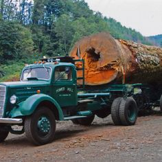 Old truck verry powerful