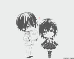 Mini Vampire Knight | Mini Kaname | Mini Yuki [SCREAMS}
