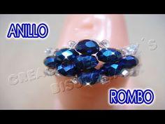 Bisuteria Anillo Rombo...................((43)) - YouTube