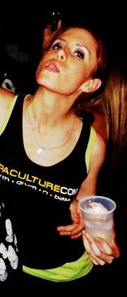 My sexy wifey representing hypaculture DnB Radio http://www.dnb-radio.com/
