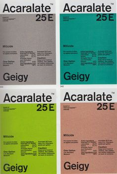 Geigy A2 Graphic Design further research