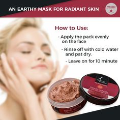 Natural Bath & Body French Red Clay Face Mask