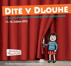 Catalogue for the Theatre Festival - Dítě v Dlouhé by Lucie Lomová, via Behance