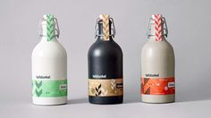 Dynamic identity for bakery and brewery on Behance