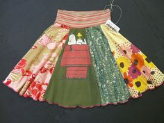 cute upcycled skirt