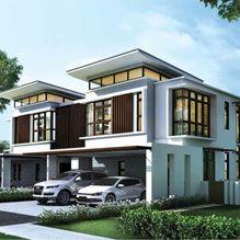 Twin villa on Pinterest Putrajaya Villas and Twin