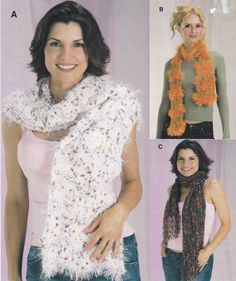 Knitted Scarf Pattern  Scarf Knitting by SimplyCraftSupplies