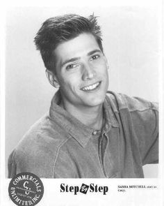 I mean, I CANNOT have greasy roots when I meet Step by Step heartthrob Sasha Mitchell.