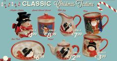 Classic Teatime Christmas Collection Great Christmas Gifts, Great Gifts, Tea Time, Deck, Gift Ideas, Make It Yourself, Mugs, Classic, Collection
