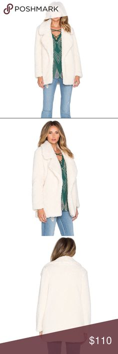 Tularosa Violet Faux Fur Coat Faux fur super cozy jacket w pockets. Worn once! In perfect condition. This color is sold out online Tularosa Jackets & Coats