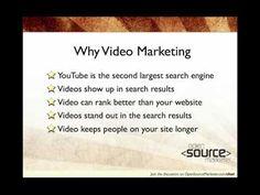 Video Marketing 101 - Why Video Marketing  #videomarketing #SouthAfrica www.themediagenius.com